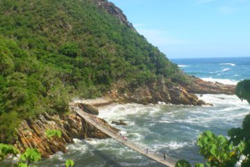 the garden route's bridge