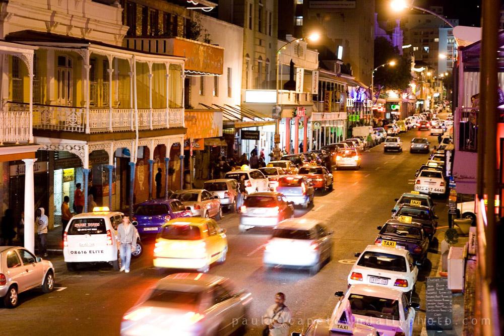 Long Street nightlife