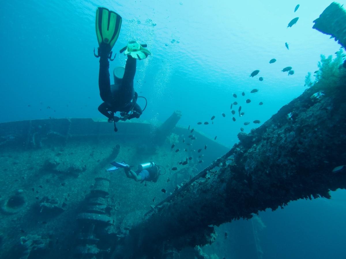 Shipwreck Diving - Cape Peninsula